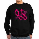 Rock The Pink Sweatshirt (dark)