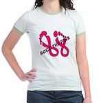 Rock The Pink Jr. Ringer T-Shirt