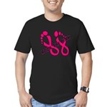 Rock The Pink Men's Fitted T-Shirt (dark)