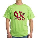 Rock The Pink Green T-Shirt