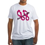 Rock The Pink Fitted T-Shirt