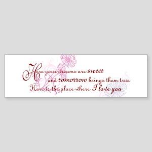 Rue's Song Sticker (Bumper)