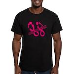 Rock the Walk Men's Fitted T-Shirt (dark)