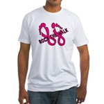 Rock the Walk Fitted T-Shirt