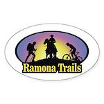 Oval RTA Color Logo Sticker