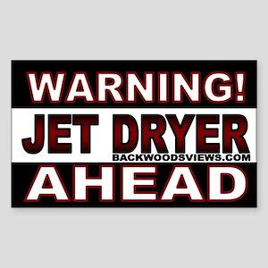 Jet Dryer Ahead.