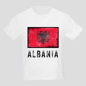 Vintage Albania Kids Light T-Shirt