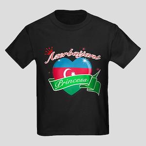 Azerbaijani Princess Kids Dark T-Shirt