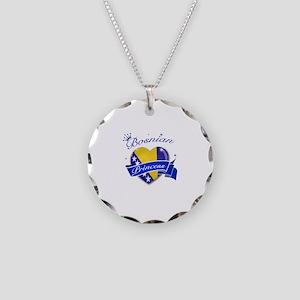 Bosnian Princess Necklace Circle Charm