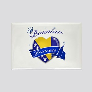 Bosnian Princess Rectangle Magnet
