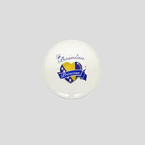 Bosnian Princess Mini Button