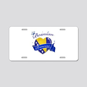 Bosnian Princess Aluminum License Plate
