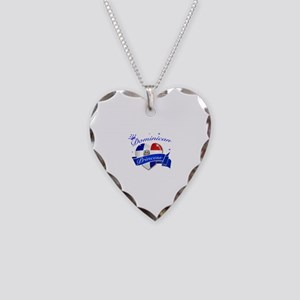 Dominican Princess Necklace Heart Charm