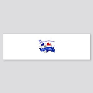 Dominican Princess Sticker (Bumper)