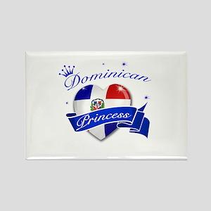 Dominican Princess Rectangle Magnet