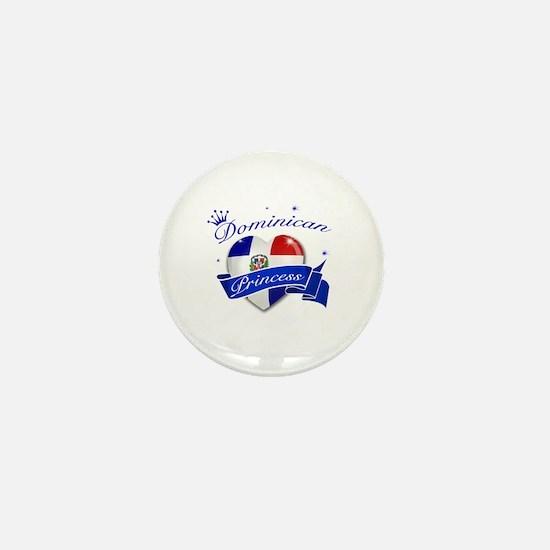 Dominican Princess Mini Button