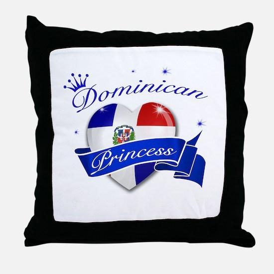 Dominican Princess Throw Pillow