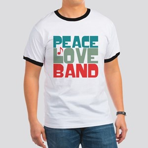 Peace Love Band Ringer T