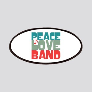 Peace Love Band Patches