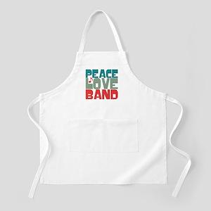 Peace Love Band Apron