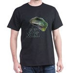 I Is For Iguana Dark T-Shirt