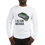 I Is For Iguana Long Sleeve T-Shirt