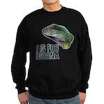 I Is For Iguana Sweatshirt (dark)