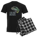 I Is For Iguana Men's Dark Pajamas