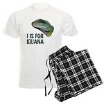 I Is For Iguana Men's Light Pajamas