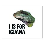 I Is For Iguana Small Poster