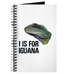 I Is For Iguana Journal