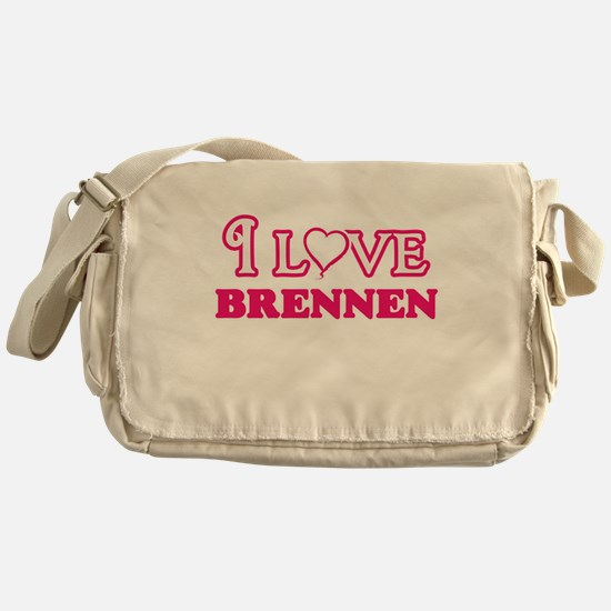I Love Brennen Messenger Bag