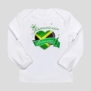 Jamaican Princess Long Sleeve Infant T-Shirt