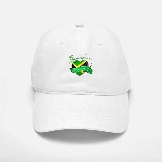Jamaican Princess Baseball Baseball Cap