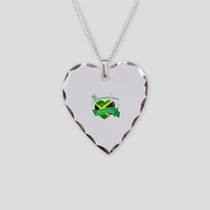 Jamaican Princess Necklace Heart Charm