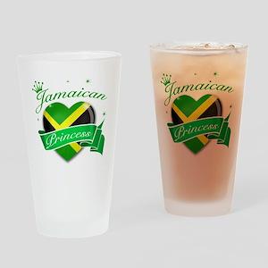 Jamaican Princess Drinking Glass