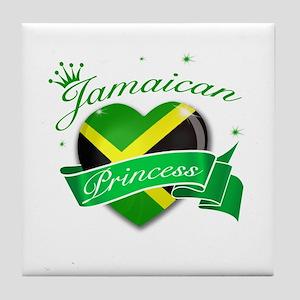 Jamaican Princess Tile Coaster