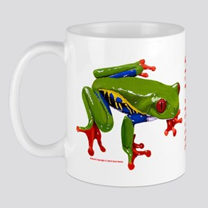 Red-eyed Leaf Frog Mug