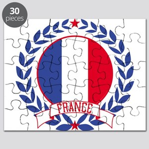 France Wreath Puzzle