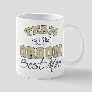 Team Groom 2013 Best Man Mug
