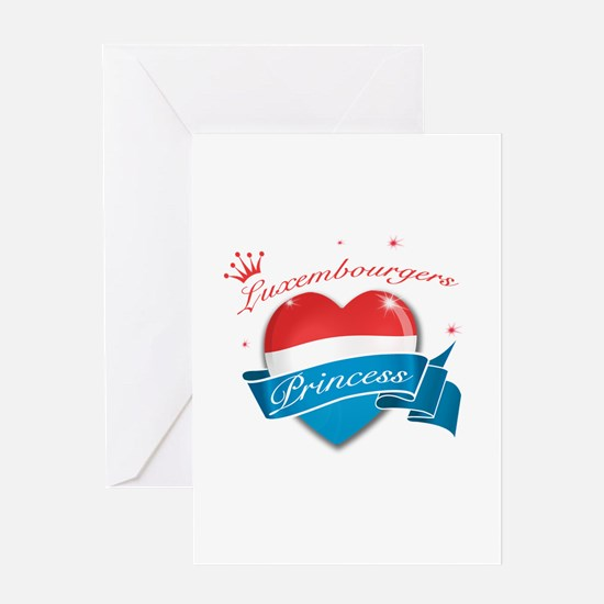 Luxembourgers Princess Greeting Card