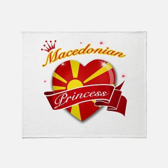 Macedonian Princess Throw Blanket