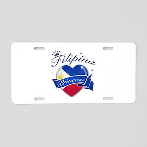 Filipino Princess Aluminum License Plate