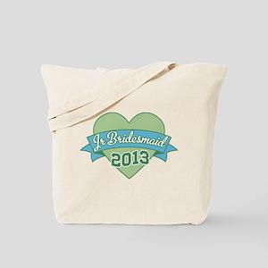 Heart Junior Bridesmaid 2013 Tote Bag