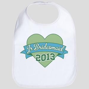 Heart Junior Bridesmaid 2013 Bib