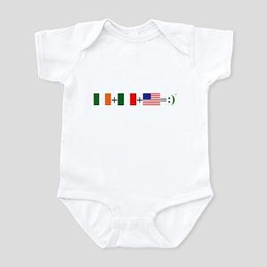 Happy Irish American Infant Bodysuit