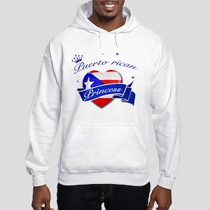 Puertorican Princess Hooded Sweatshirt