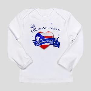 Puertorican Princess Long Sleeve Infant T-Shirt