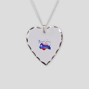 Puertorican Princess Necklace Heart Charm