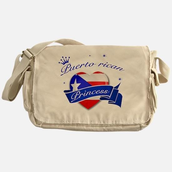 Puertorican Princess Messenger Bag